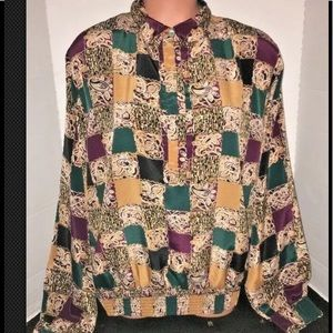 Notations Silky Business Secretary Blouse Top 14